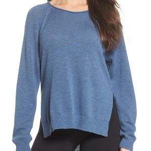 NWT ✨ UGG Estela High/low sweater blue